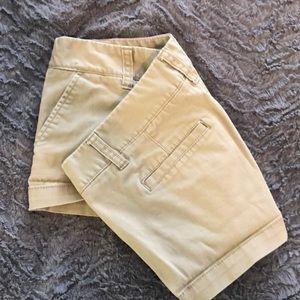 Pants - Tan booty shorts